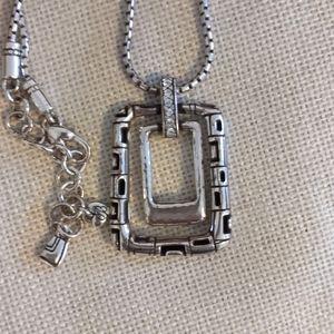 Authentic Brighton unique square necklace